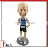 running sports bobblehead