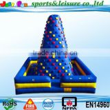 adults outdoor climbing wall, inflatable rock climbing wall, high quality inflatable climbing walls