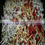 environmental golf wooden tee colored golf tees                                                                         Quality Choice