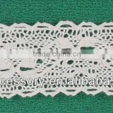 cotton crochet/cluny lace,jacquard cotton lace fabric,cotton thread lace