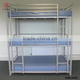 cheap powerful and strong 3 person use triple pull down metal frame bunk bed for sale