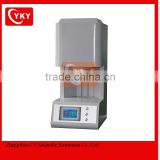 dental zirconia sintering furnace with pure type MoSi2 heating elements