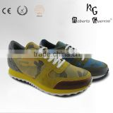 Top comfortable cow leather casual men's shoes