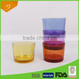 Beautiful Mini colour Glass Cup For Whisky In Bulk,Glass Wine Cup/Coffee Glass Cups                                                                         Quality Choice