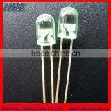 transparent 5mm green round led diode for traffic light(HH-51CRC-O)