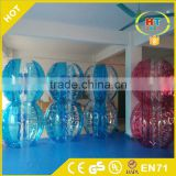 Colorful inflatable bumper ball, giant hamster ball,inflatable body bumper ball for sale