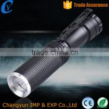 Wholesale Aluminum zoom waterproof high power quality tactical MINI pen led flashlight                                                                                                         Supplier's Choice