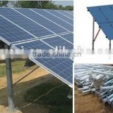 ground solar mounting system Helical Ground Screw Piles for Foundation of Solar Photovoltaic Brackets Spiral Post
