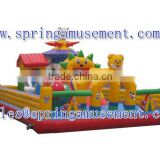 Hot sale inflatable fun city amusement park items SP-FC024