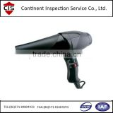 Hair Drier / Blow Drier Quality Inspection service / quality control / container loading supervision / final random inspection