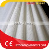 Pass ISO140001 Test Excellent Water Absorbency Wholesale Crepe Polypropylene Woodpulp Spunlace Fabric