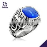 Blue enamel custom signet boxing championship rings                                                                         Quality Choice                                                                     Supplier's Choice