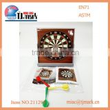 Best price kids toys,mini magnetic desktop dart board game