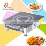 201 304 stainless steel restaurant hotel electric kitchen Commercial induction Wok cooker stove H50PQ