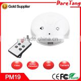 HD 720P sound and light wireless smoke detector hidden camera smoke detector camera smoke detector ip camera