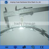 security fencing fazor barbed wire / razor combat wire / safety razor wire (iso9001:2008 Professional Manufacturer)
