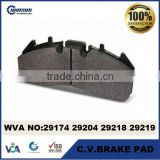 29174 29204 29218 29219 29226 29273 heavy duty truck disc brake pad for VOLVO & Renault