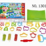 Colorful clay play dough plasticine modeling clay toy
