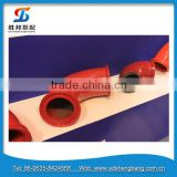 DN125*R275*90 twin wall concrete pump elbow from China
