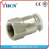 white high quality air Fittings pneumatic fitting High Quality Pneumatic Plastic Air Tube Connector Push in Fittings