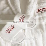 Best selling hotel cotton bath robes and slippers with custom logo                                                                         Quality Choice