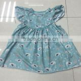 2016 New Hot Summer & Spring Milk Silk Swan Dress Pretty Baby Girls Dress Hot Sale Girls Short Dress