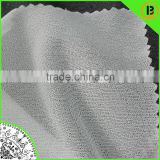 30d Plain knitted fusing interlining/PA double-dot woven interface fabric/30gsm adhesive interlining for garment