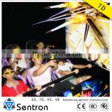 6 Seats Interactive Home Theater 7D Simulator for Amusement Park Ride 4D 5D 6D 7D Cinema