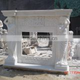 Natural Stone Fireplace Mantel With Antique&Europe&New Style