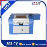 Small 3D Laser Engraving Machine ZK-5030 500*300MM With 60W Co2 Laser Tube Honey Comb Platform