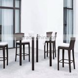 2015 Hot Sale Wicker Rattan Bar Stool - Wicker Rattan Bar Set - Outdoor Bar Set Furniture