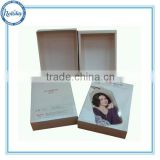 Foldable High Quality Cardboard Paper Box Packaging For Cloth, paper packaging for thermal cloth,underwear packing box