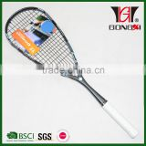 GXS-40 new design full carbon squash racket/squash rackets for sale/squash