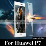 9H Tough Clear Tempered Glass Screen Protector Guard Film Shield for Huawei Ascend P7