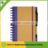 Promotional Recycled waterproof paper notebook 47018