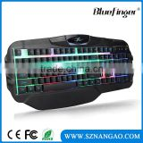 Shenzhen Factory Raised USB wired keyboard with mechanical feeling