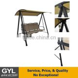 hanging swing chair,3 seater swing chair,hanging outdoor swing chari