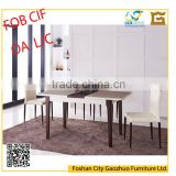 New model modern marble solid wood dinning table for dinning room sets TW5021#