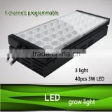 Super new wholesale programmable full spectrum 1000 watt led grow lights 4 channels dimmable for greenhouse planting use