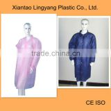 Disposable nonwoven water resistant custom Lab Coat