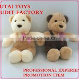 audit factory stuffed dog toys with bowknot