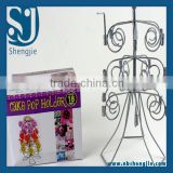 Trade Assurance Iron Spray CAKE 18 POPS HOLDER/Cup Cake Stand