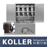 Koller one ton/day Ice Cube Maker with semi-automatic packing system for coffee shop CV1000