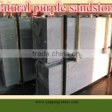 natural purple sandstone slab