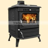 italian wood stoves with boiler, wood burning stove, cast iron stove, heating stove with boiler