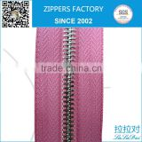 gold plating bronze fashion zipper in long chain