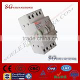 AC/DC disconnect switch Changeover Switch suitable for DIN Rail Mounting modular din rail changeover switch