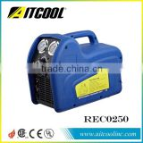 R134 R22 Auto Refrigerant Recovery Recycling Machine/unit Car Air Condition Service Machine Recharger china factory RECO250