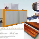 wood effect transfer machine