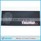 Barware bar accessories fashion bar mats,PVC bar drip rail mat beer PVC bar matting,bar mat cup placement